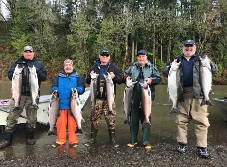 Satsop River Fishing